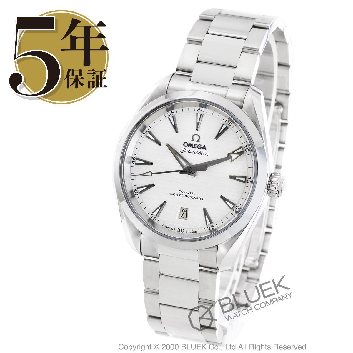 オメガ シーマスター アクアテラ マスタークロノメーター 腕時計 メンズ OMEGA 220.10.38.20.02.001_5