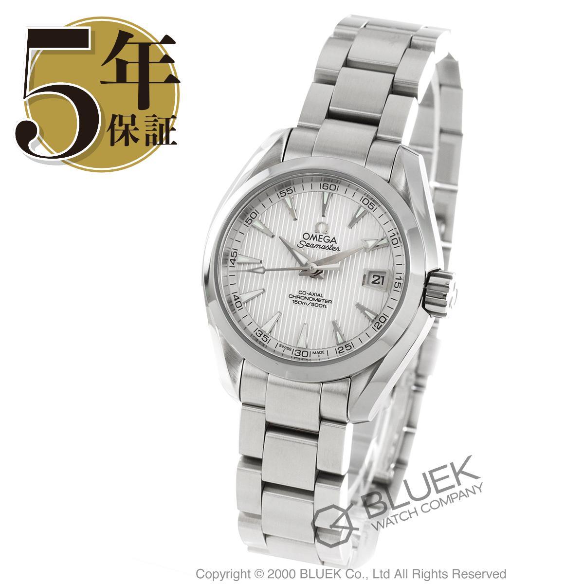 オメガ シーマスター アクアテラ 腕時計 レディース OMEGA 231.10.30.20.02.001_5