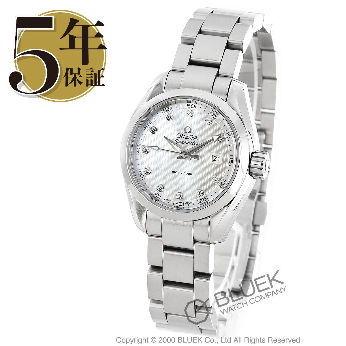 オメガ シーマスター アクアテラ ダイヤ 腕時計 レディース OMEGA 231.10.30.60.55.001_5