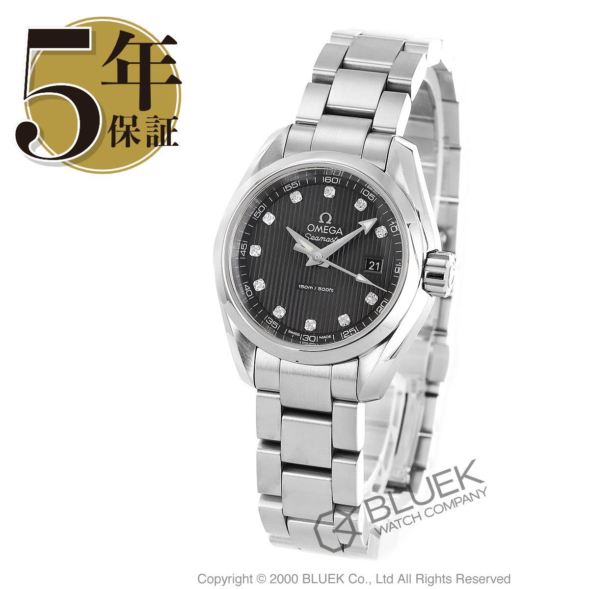 オメガ シーマスター アクアテラ ダイヤ 腕時計 レディース OMEGA 231.10.30.60.56.001_5