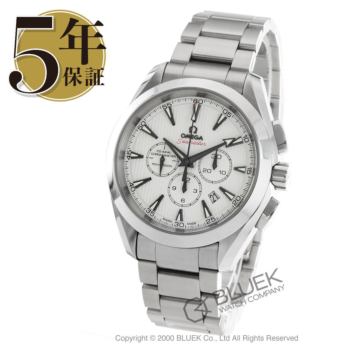 オメガ シーマスター アクアテラ クロノグラフ 腕時計 メンズ OMEGA 231.10.44.50.04.001_5