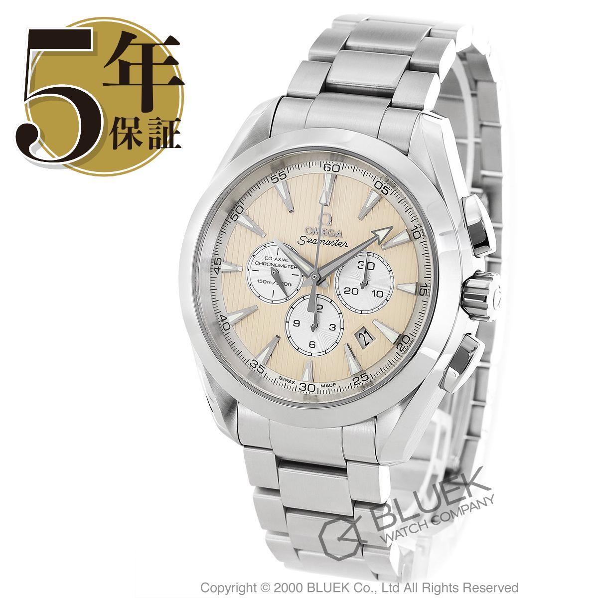 オメガ シーマスター アクアテラ クロノグラフ 腕時計 メンズ OMEGA 231.10.44.50.09.001_5