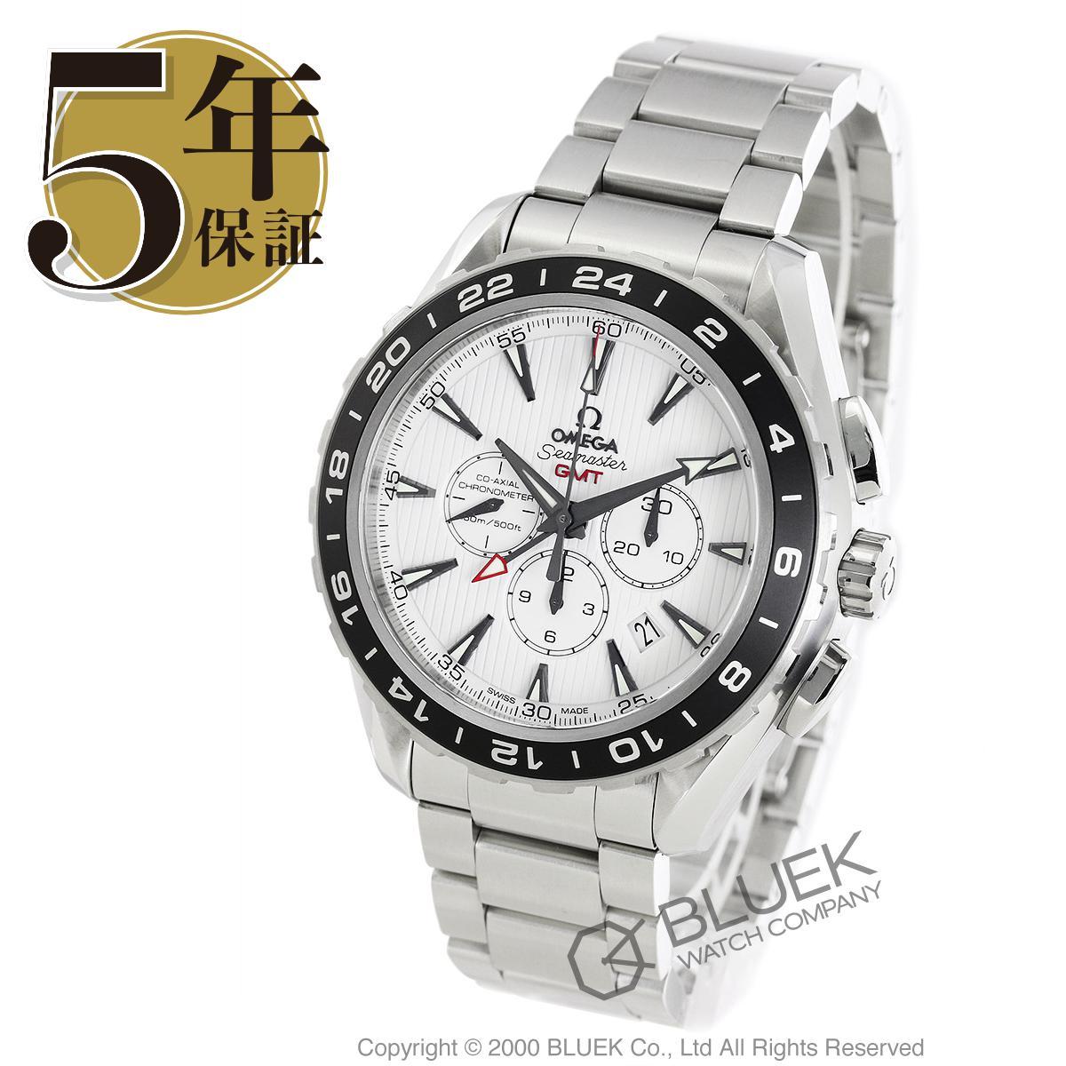 【最大3万円割引クーポン 11/01~】オメガ シーマスター アクアテラ クロノグラフ GMT 腕時計 メンズ OMEGA 231.10.44.52.04.001_8