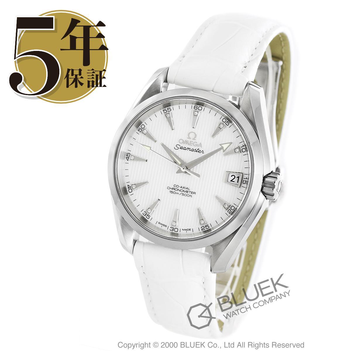 オメガ シーマスター アクアテラ ダイヤ アリゲーターレザー 腕時計 メンズ OMEGA 231.13.39.21.55.001_8