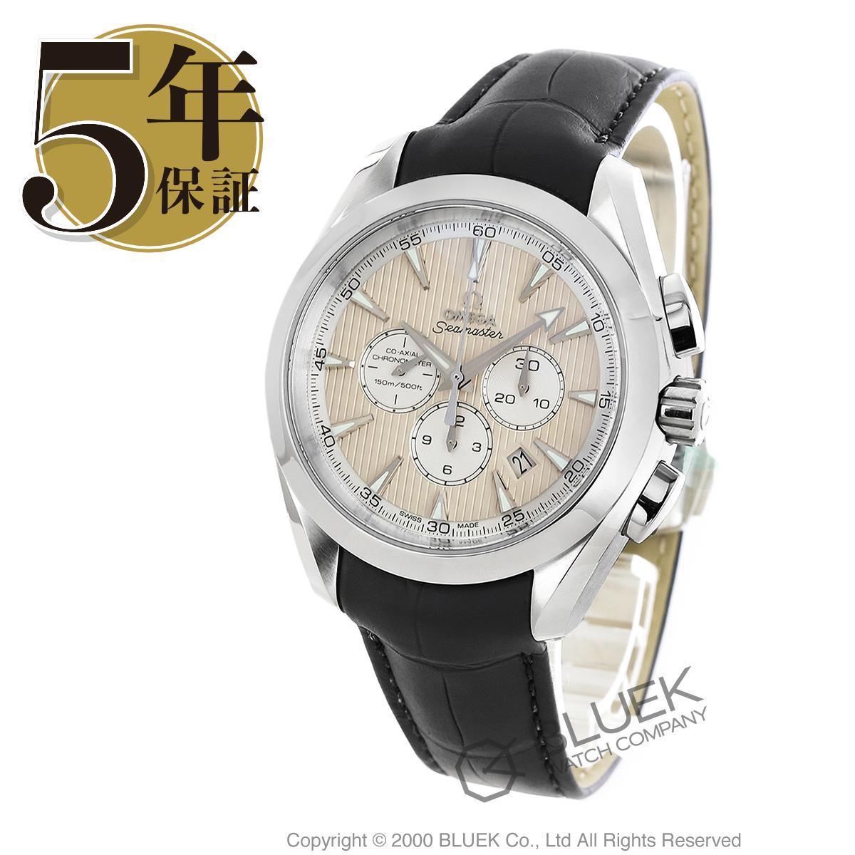 オメガ シーマスター アクアテラ クロノグラフ アリゲーターレザー 腕時計 メンズ OMEGA 231.13.44.50.09.001_5