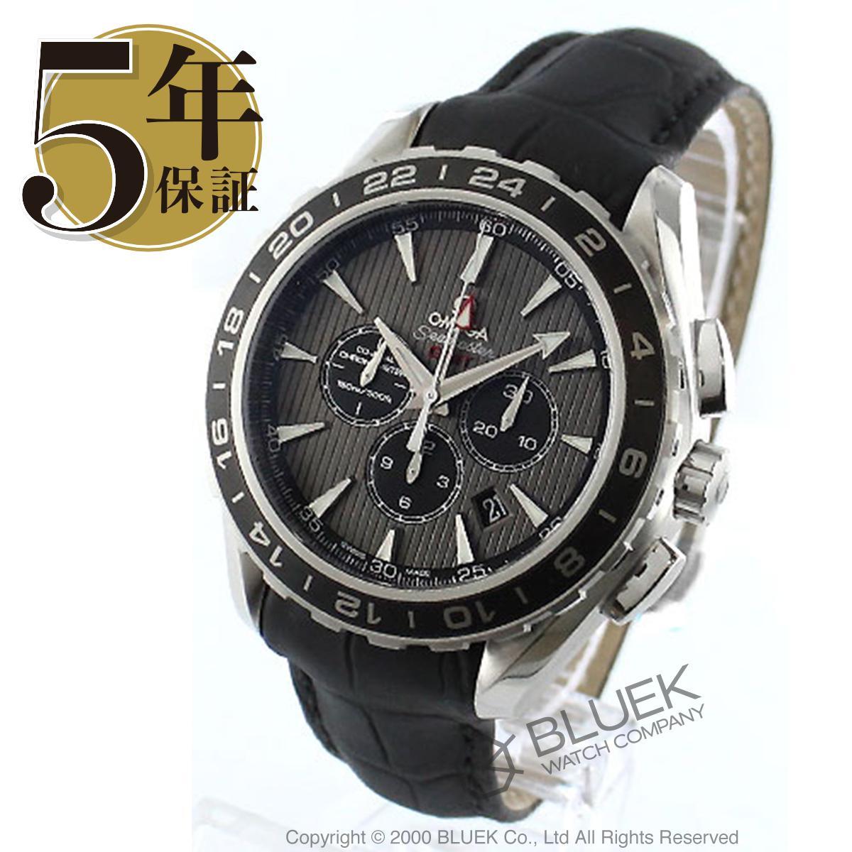 オメガ シーマスター アクアテラ クロノグラフ GMT 腕時計 メンズ OMEGA 231.13.44.52.06.001_5