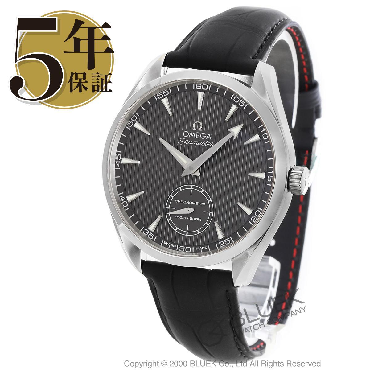 オメガ シーマスター アクアテラ アリゲーターレザー 腕時計 メンズ OMEGA 231.13.49.10.06.001_5