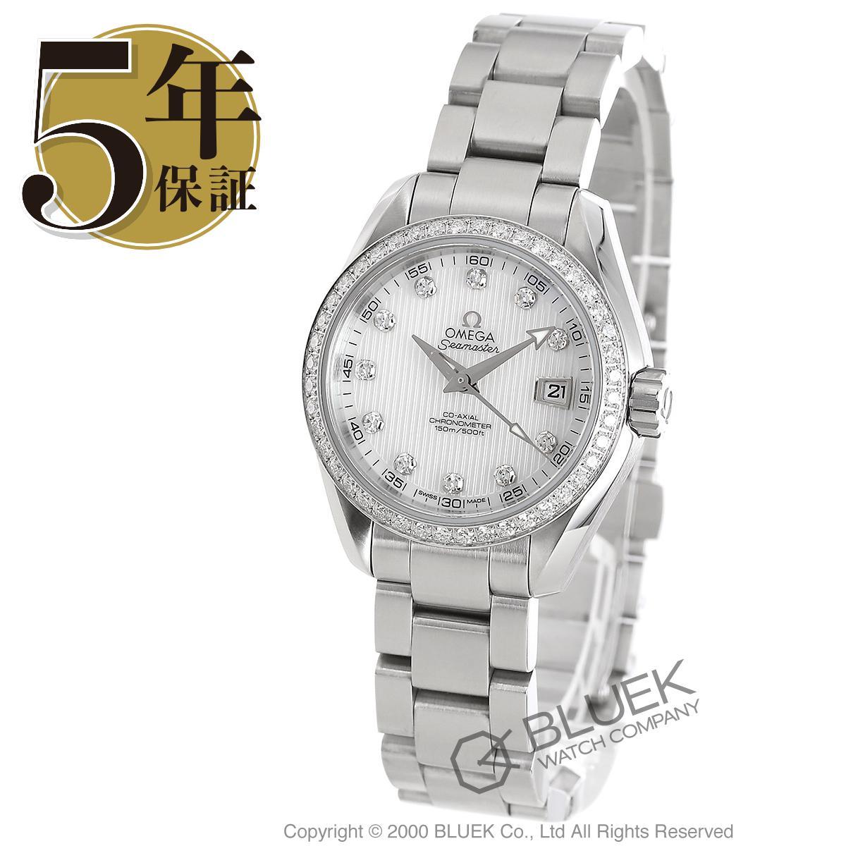 オメガ シーマスター アクアテラ ダイヤ 腕時計 レディース OMEGA 231.15.30.20.55.001_8