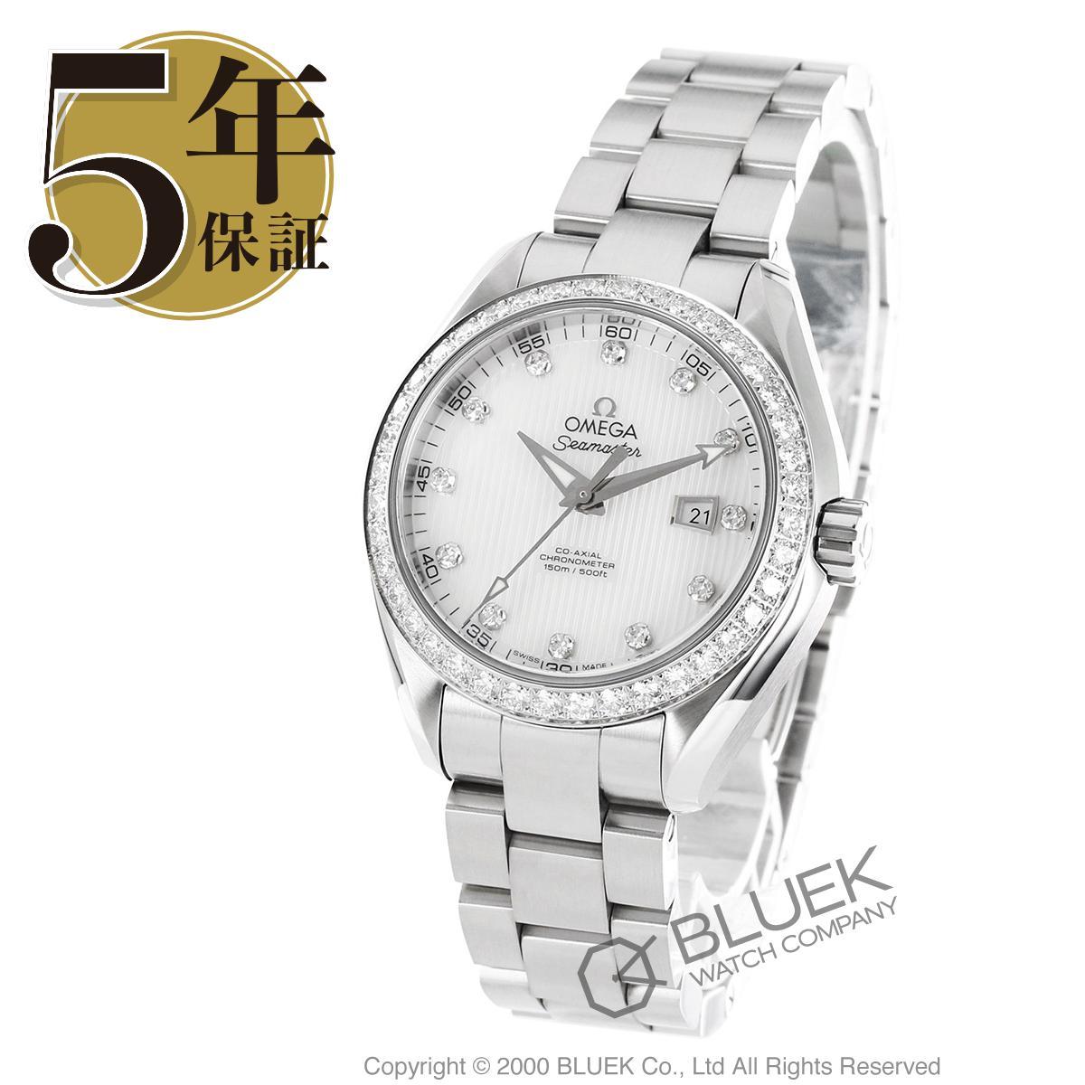 オメガ シーマスター アクアテラ ダイヤ 腕時計 レディース OMEGA 231.15.34.20.55.001_5