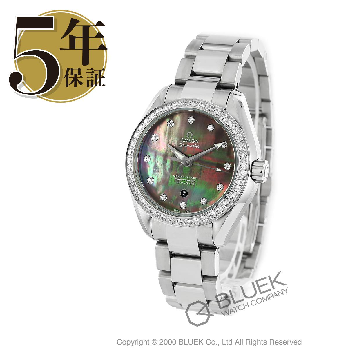 オメガ シーマスター アクアテラ ダイヤ 腕時計 レディース OMEGA 231.15.34.20.57.001_8