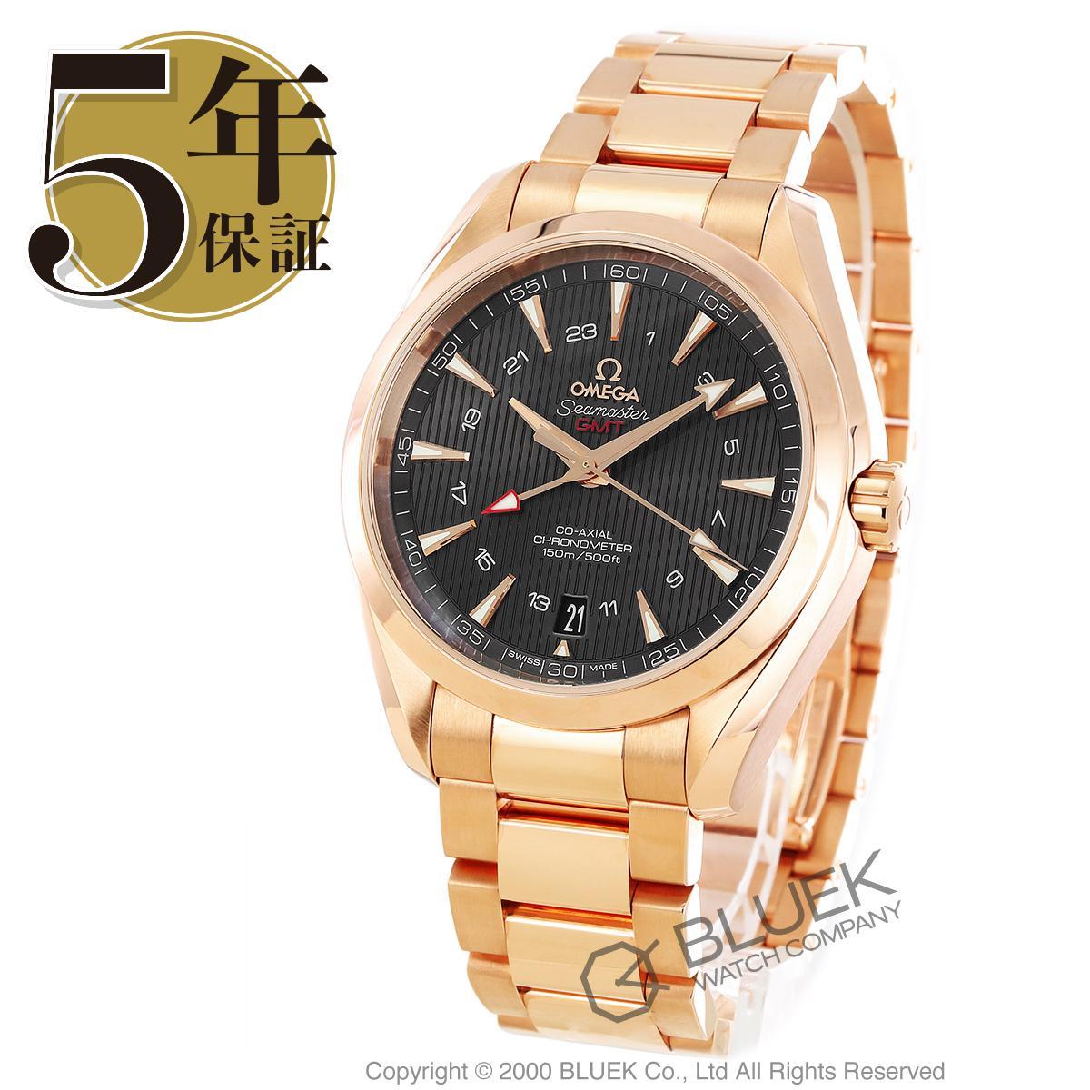 オメガ シーマスター アクアテラ GMT RG金無垢 腕時計 メンズ OMEGA 231.50.43.22.06.002_5