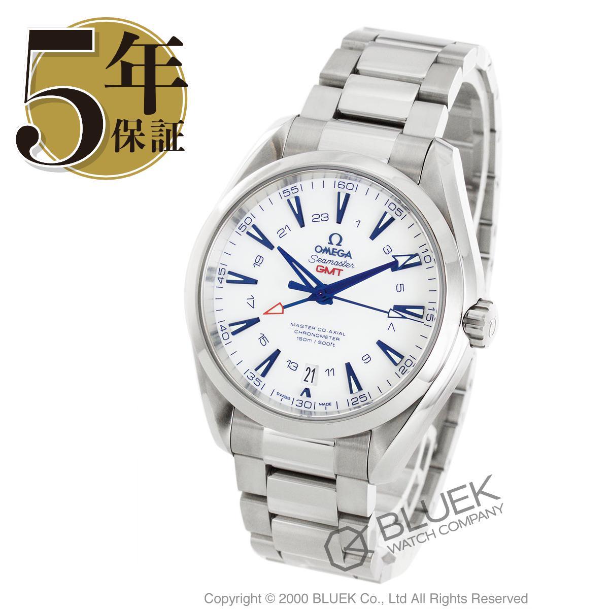 オメガ シーマスター アクアテラ グッドプラネット マスターコーアクシャル GMT 腕時計 メンズ OMEGA 231.90.43.22.04.001_5