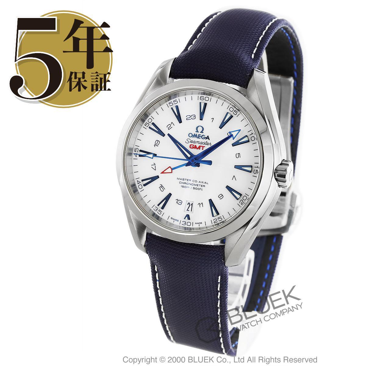 オメガ シーマスター アクアテラ グッドプラネット GMT 腕時計 メンズ OMEGA 231.92.43.22.04.001_5