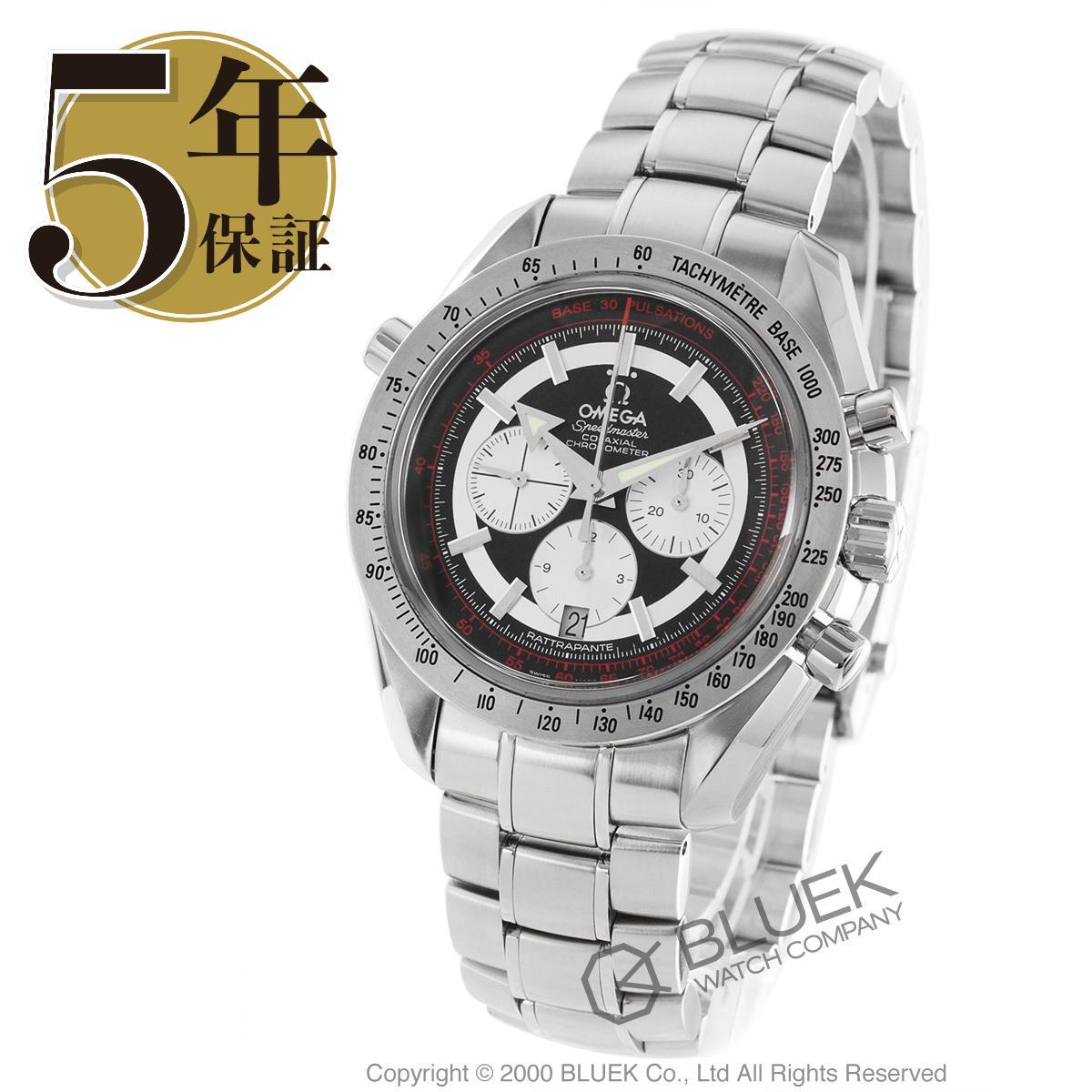 オメガ スピードマスター ブロードアロー ラトラパンテ クロノグラフ 腕時計 メンズ OMEGA 3582.51_5