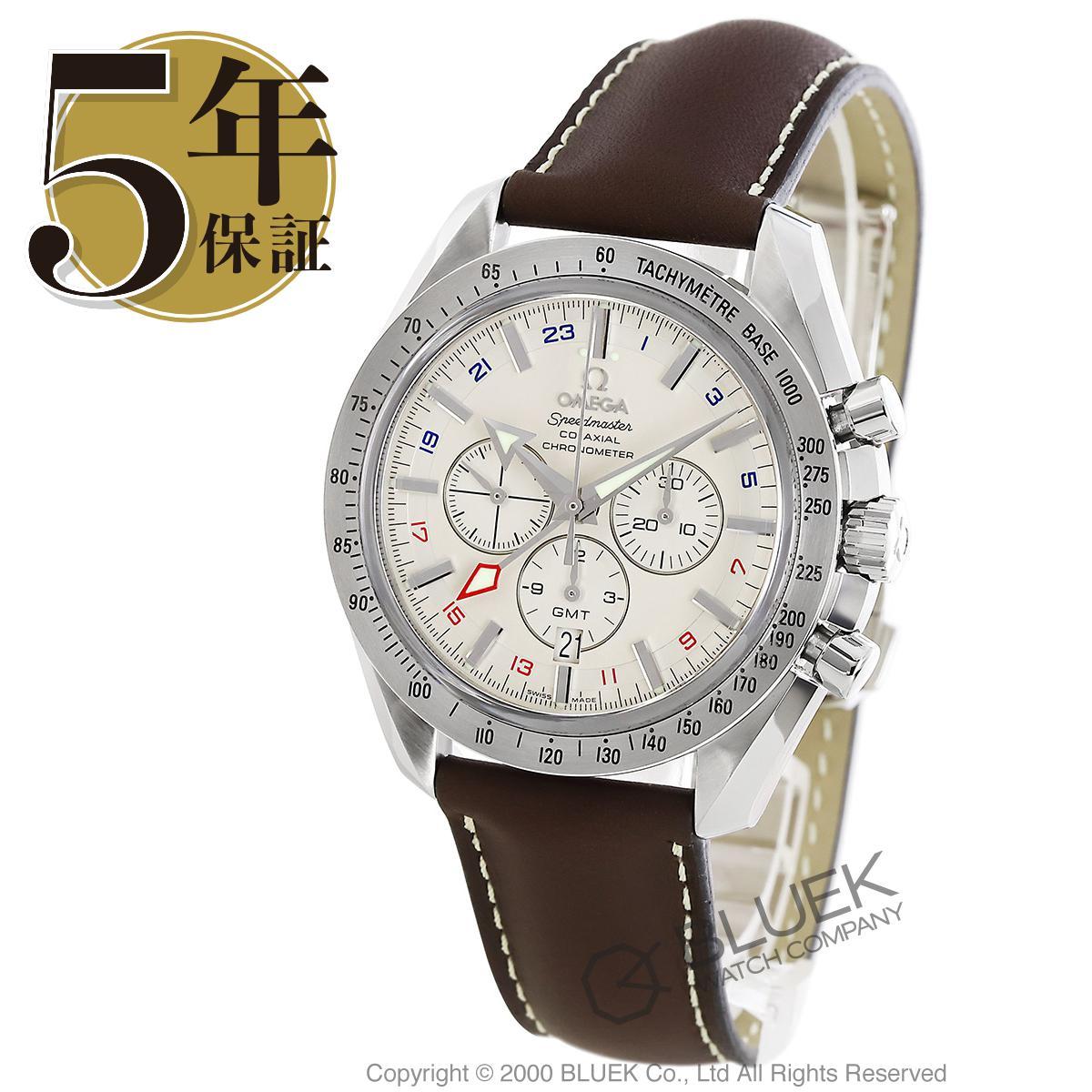 オメガ スピードマスター ブロードアロー クロノグラフ GMT 腕時計 メンズ OMEGA 3881.30.37_8