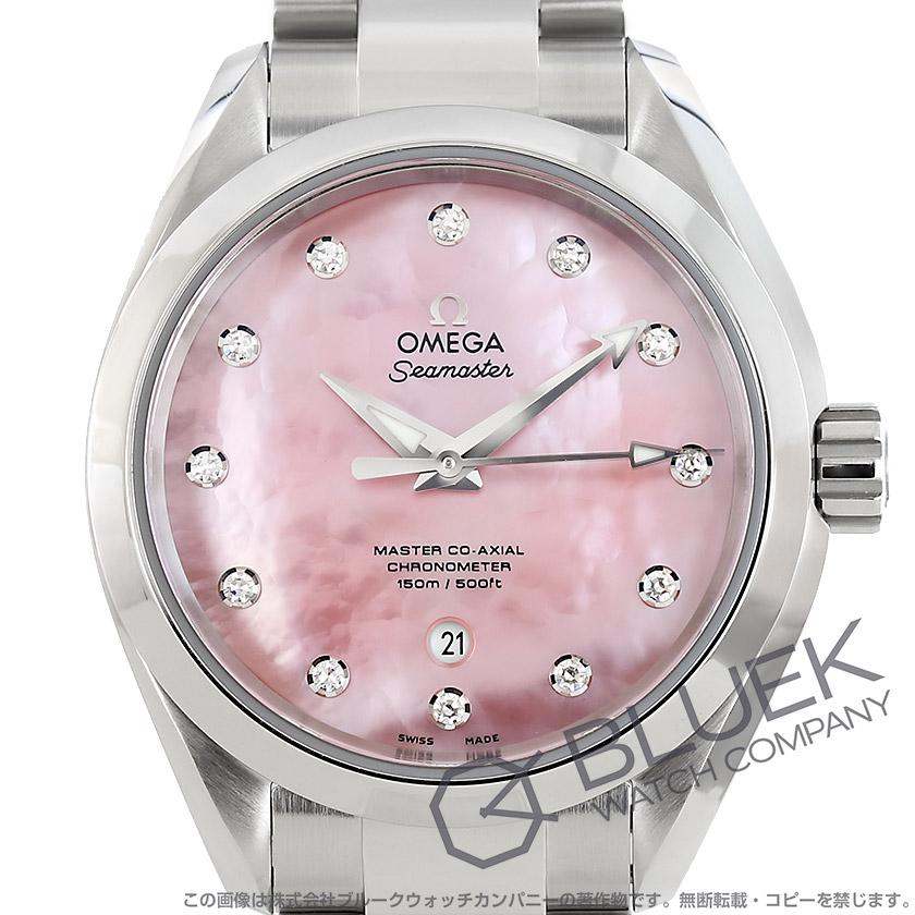 オメガ シーマスター アクアテラ マスターコーアクシャル ダイヤ 腕時計 レディース OMEGA 231.10.34.20.57.003_8