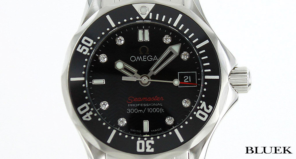 Omega OMEGA Seamaster Professional diamond 300 m water resistant Womens 212.30.28.61.51.001