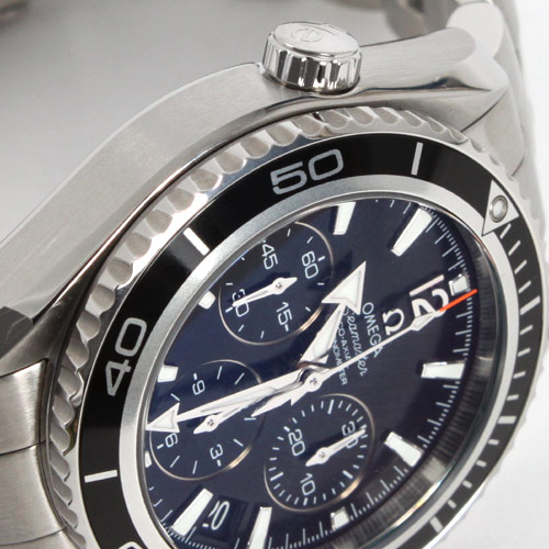 Omega Seamaster Planet Ocean chronograph co-axial chronometer black Boyz 222.30.38.50.01.001
