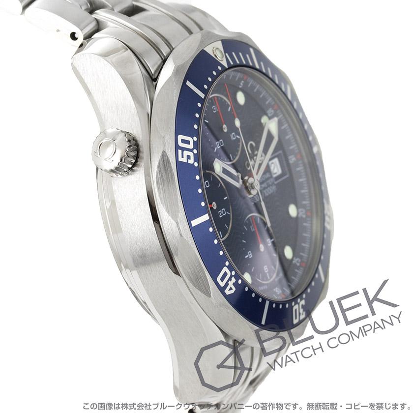 Omega Seamaster 300 m プロダイバーズ 2225.80 chronometer automatic chronograph blue mens