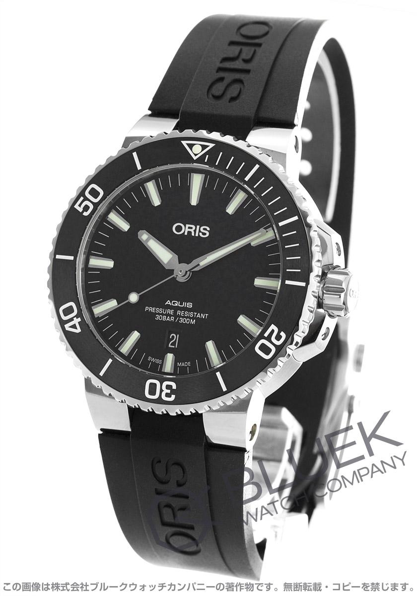 オリス アクイス デイト 300m防水 腕時計 メンズ ORIS 733 7730 4154R