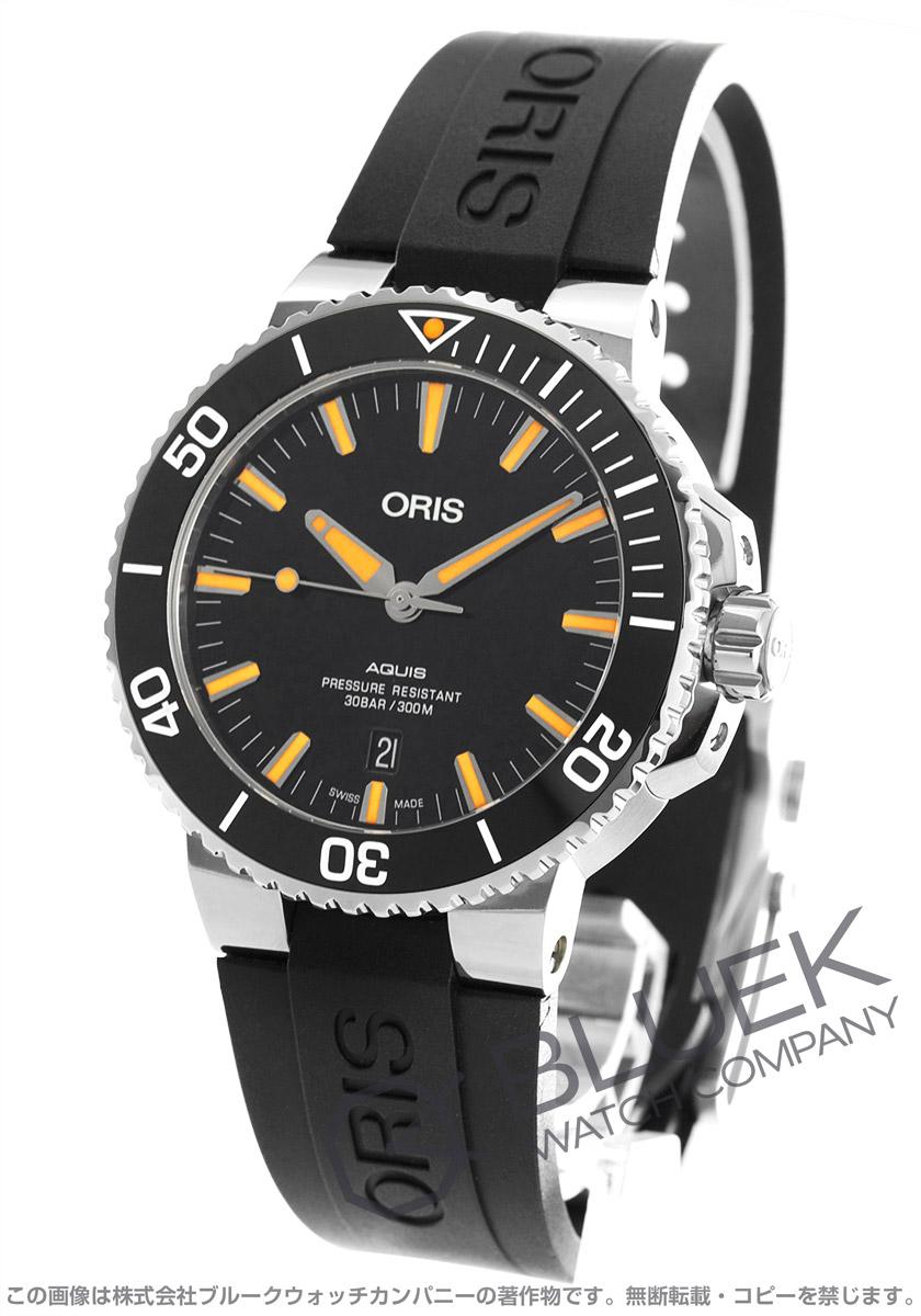 オリス アクイス デイト 300m防水 腕時計 メンズ ORIS 733 7730 4159R
