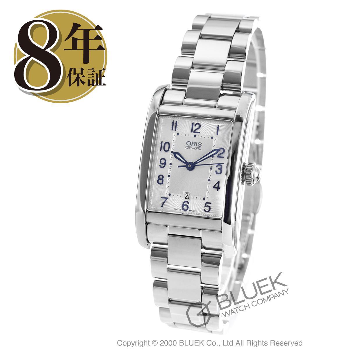 オリス レクタンギュラー デイト 腕時計 レディース ORIS 561 7692 4031M_8