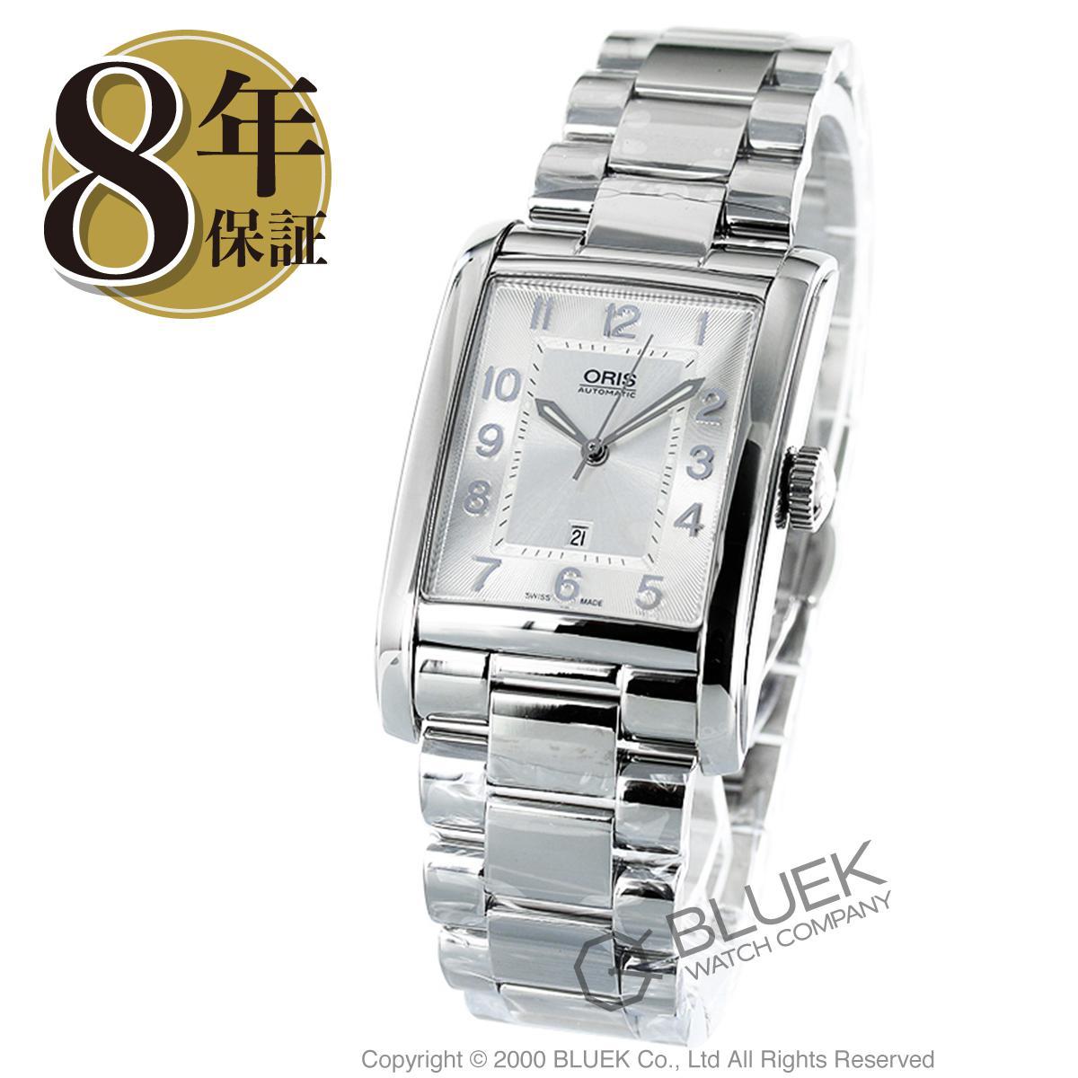 オリス レクタンギュラー デイト 腕時計 メンズ ORIS 561 7693 4061M_8
