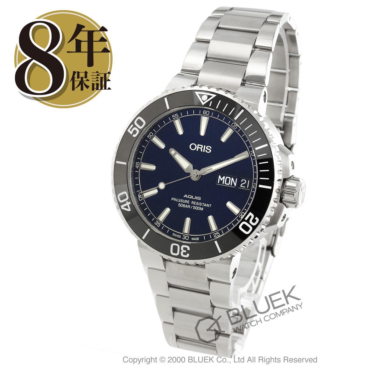 オリス アクイス ビッグデイデイト 500m防水 腕時計 メンズ ORIS 752 7733 4135M_8