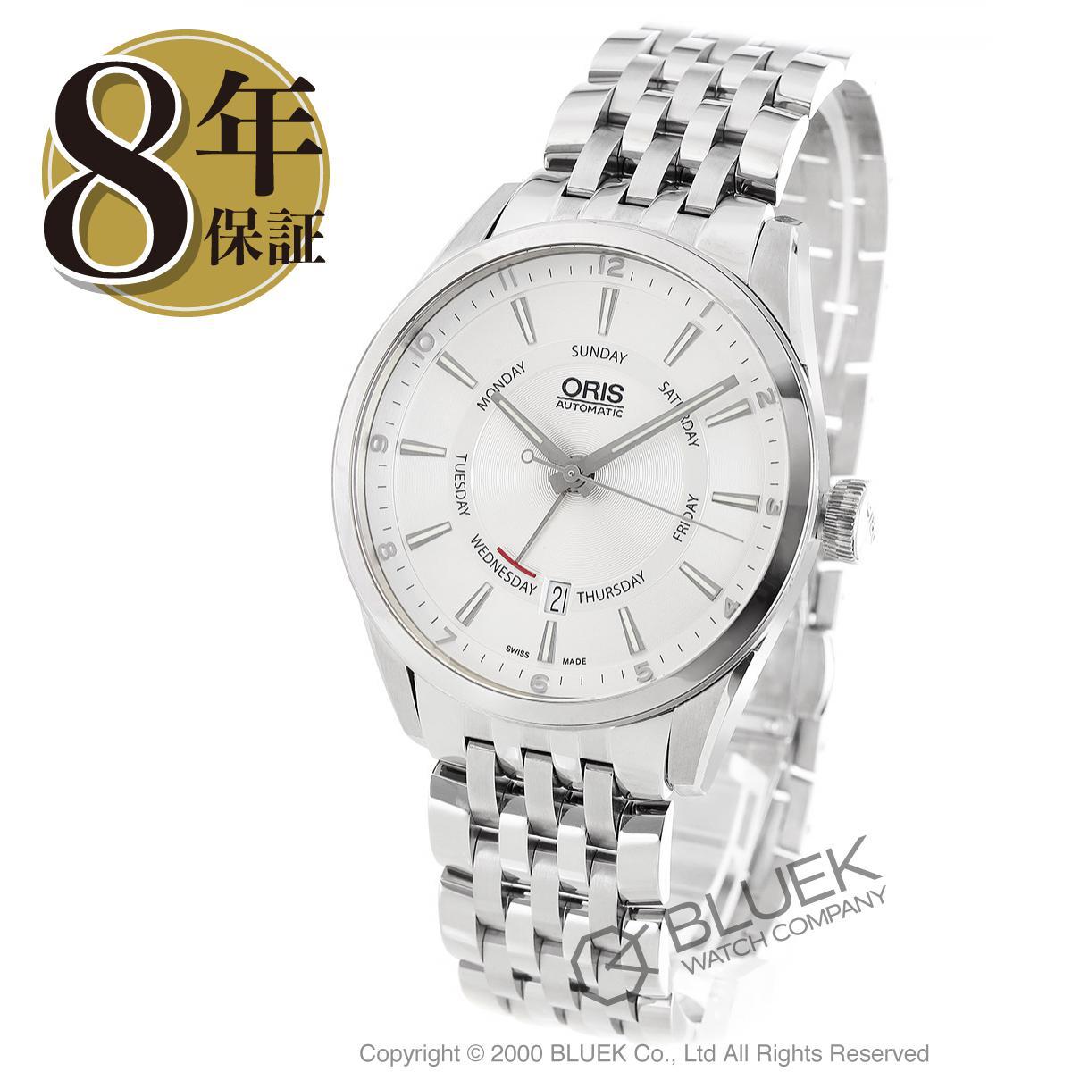 オリス アーティックス ポインターデイ デイト 腕時計 メンズ ORIS 755 7691 4051M_8
