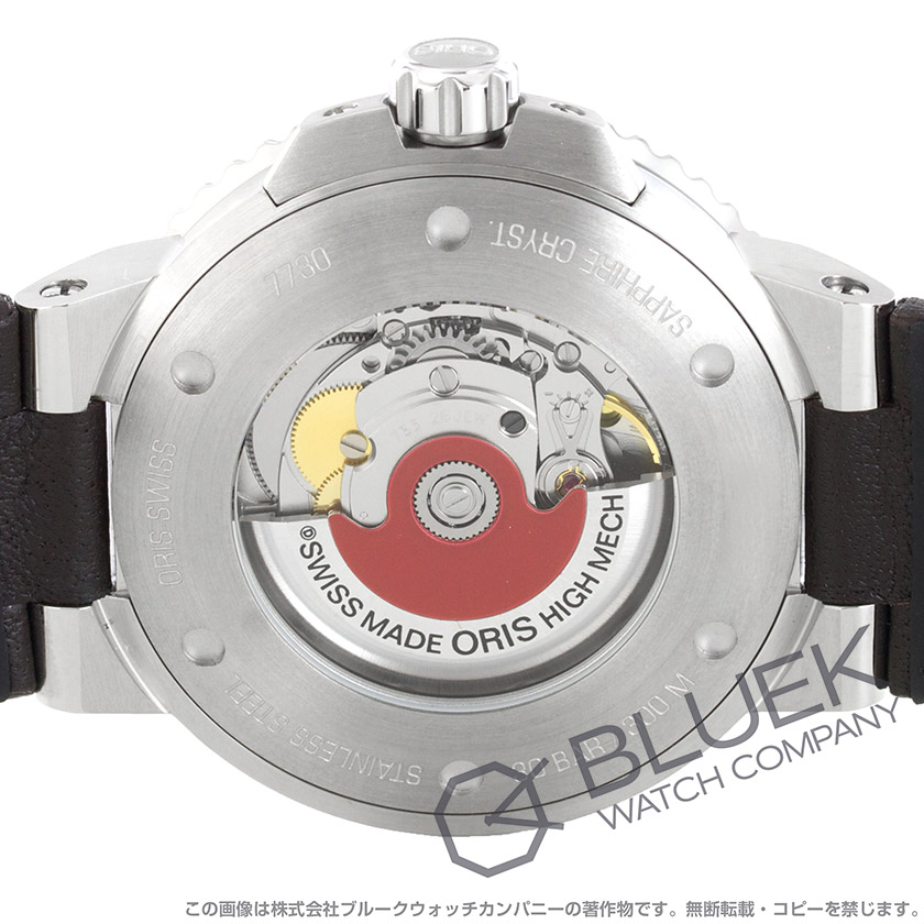 オリス アクイス デイト 300m防水 腕時計 メンズ ORIS 733 7730 4135D_8
