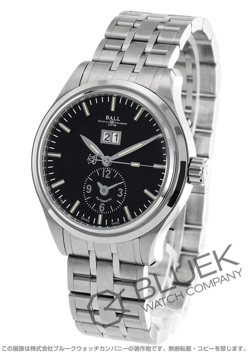 【3,000円OFFクーポン対象】ボールウォッチ トレインマスター ファーストフライト 限定600本 デュアルタイム 腕時計 メンズ BALL WATCH GM1056D-S2J-BK