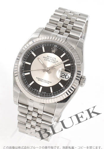 Rolex Rolex date just men Ref .116234 watch clock