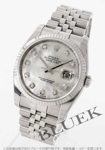 Rolex Rolex date just men Ref.116234NG watch clock