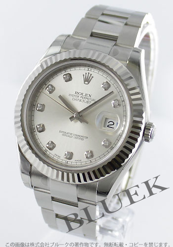 Rolex ROLEX Datejust diamond pure gold mens Ref.116334G