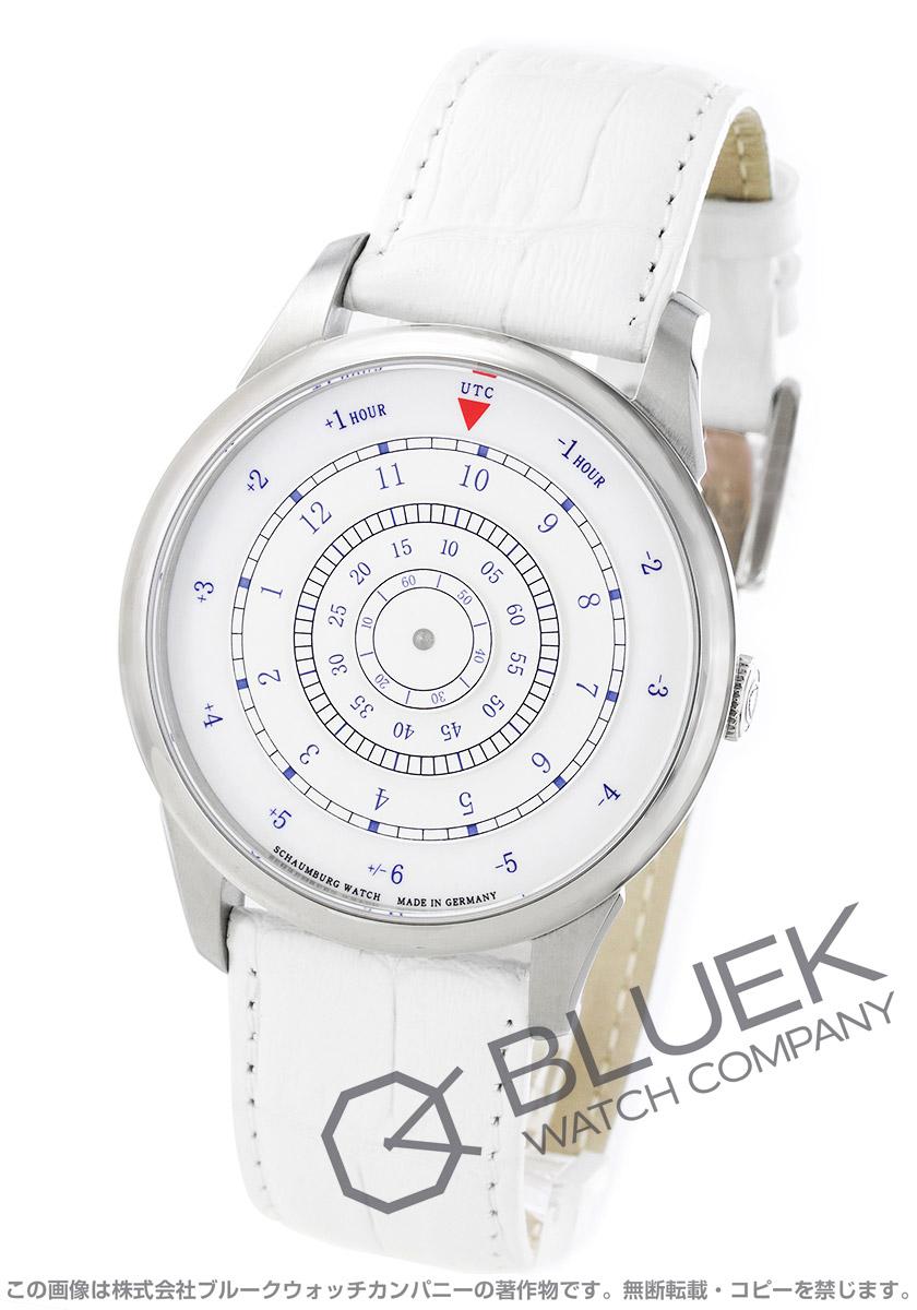 【最大3万円割引クーポン 11/01~】シャウボーグ ディスク 1 腕時計 メンズ SCHAUMBURG DISK-1