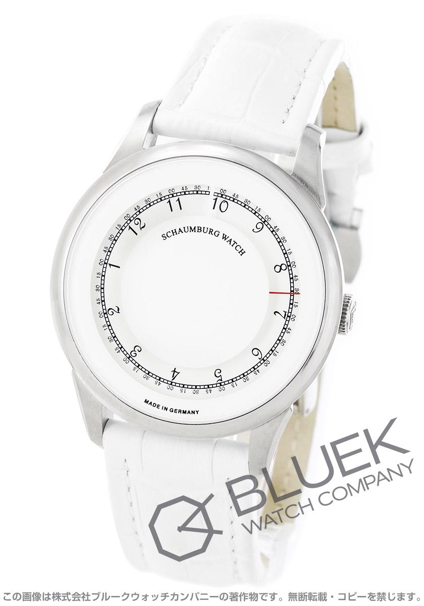 シャウボーグ ディスク ミスティック 腕時計 メンズ SCHAUMBURG DISK MYSTIQUE-WH