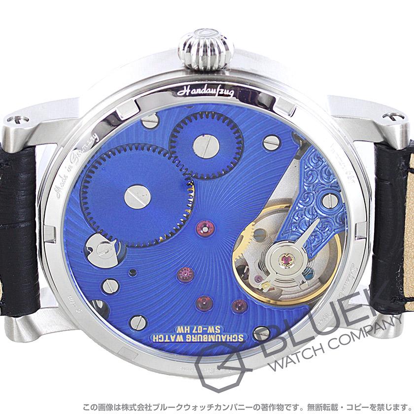 シャウボーグ トリブル レギュレーター 腕時計 メンズ SCHAUMBURG TRIBLE-BBL