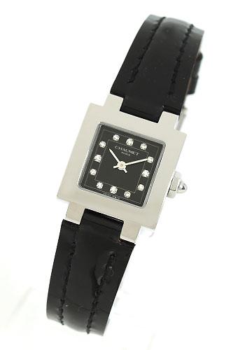 Show female till do show Ocycrius japonicus shop index enamel leather black Lady's W04211-045 watch clock