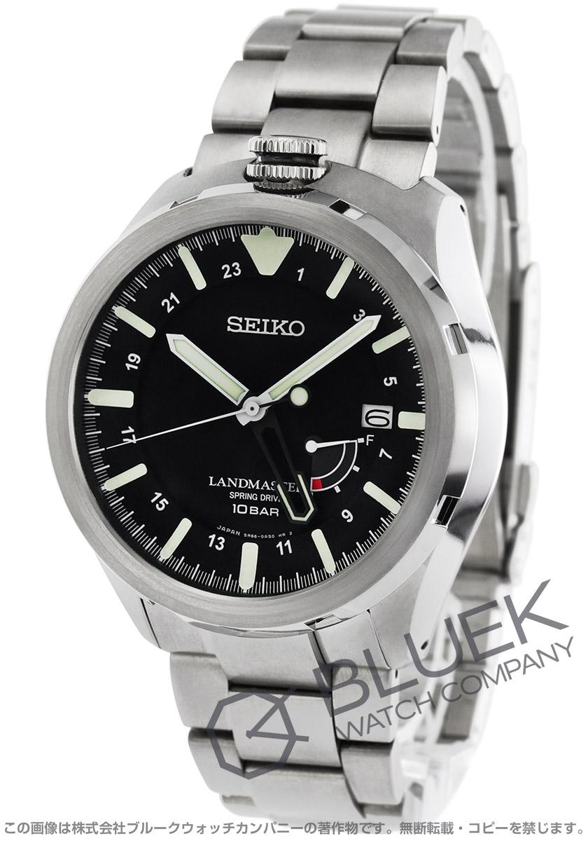 【6,000円OFFクーポン対象】セイコー プロスペックス ランドマスター デュアルタイム パワーリザーブ GMT 腕時計 メンズ SEIKO SBDB015