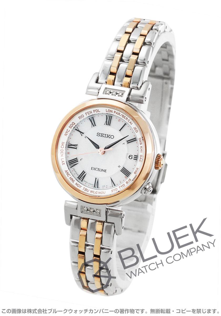 ダイヤ 【3,000円OFFクーポン対象】セイコー SEIKO 腕時計 エクセリーヌ SWCW106 レディース