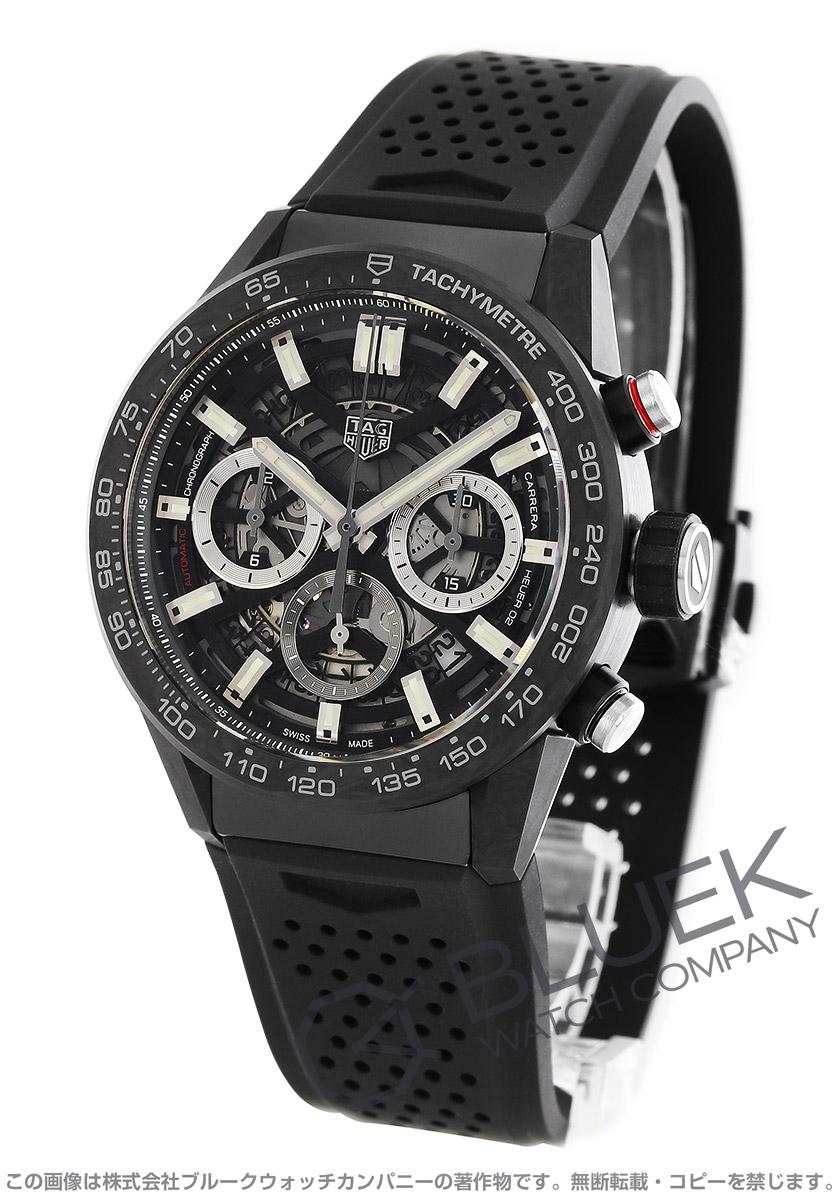 タグホイヤー カレラ ホイヤー02 クロノグラフ 腕時計 メンズ TAG Heuer CBG2016.FT6143