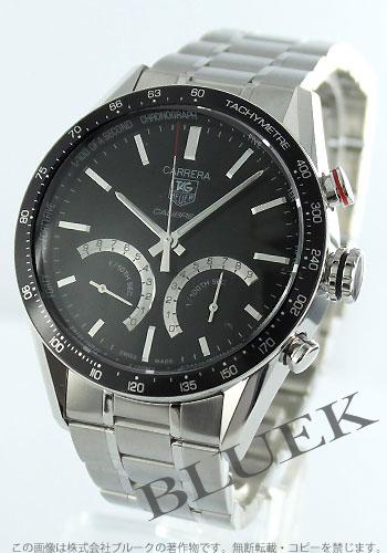 Tag Heuer Carrera Calibre S chronograph tachymeter black mens CV7A12... BA0795