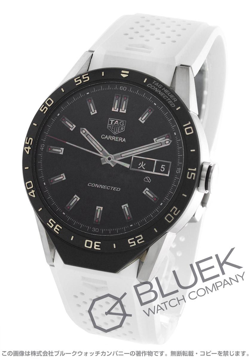【3,000円OFFクーポン対象】タグホイヤー コネクテッド クロノグラフ パワーリザーブ GMT 腕時計 メンズ TAG Heuer SAR8A80.FT6056