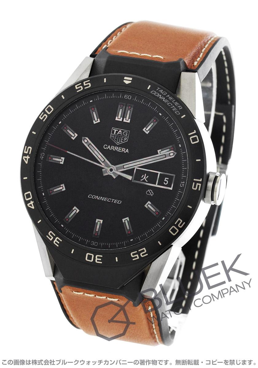 【最大3万円割引クーポン 11/01~】タグホイヤー コネクテッド クロノグラフ パワーリザーブ GMT 腕時計 メンズ TAG Heuer SAR8A80.FT6070