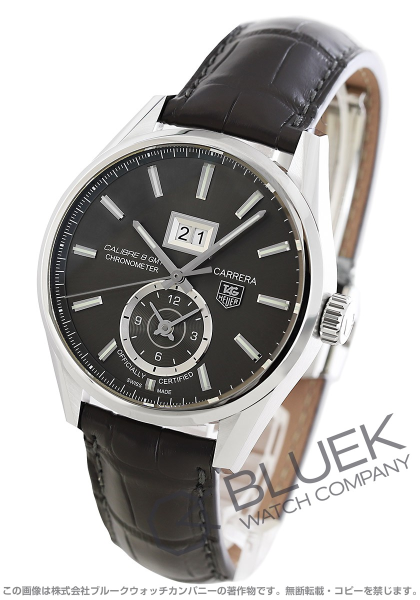 TAG Heuer  Carrera  Grand Date GMT Chronometer  WAR5012.FC6326
