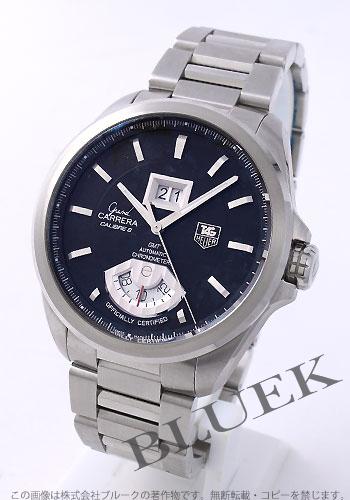 8 タグホイヤーグランドカレラキャリバー chronometer D date GMT black men