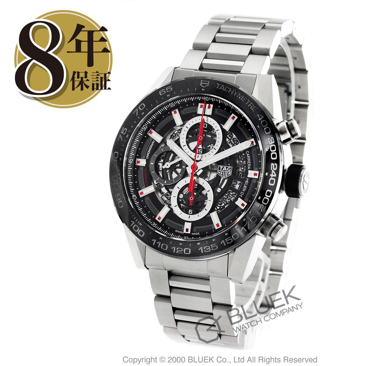 タグホイヤー カレラ ホイヤー01 クロノグラフ 腕時計 メンズ TAG Heuer CAR2A1W.BA0703_8 バーゲン 成人祝い ギフト プレゼント