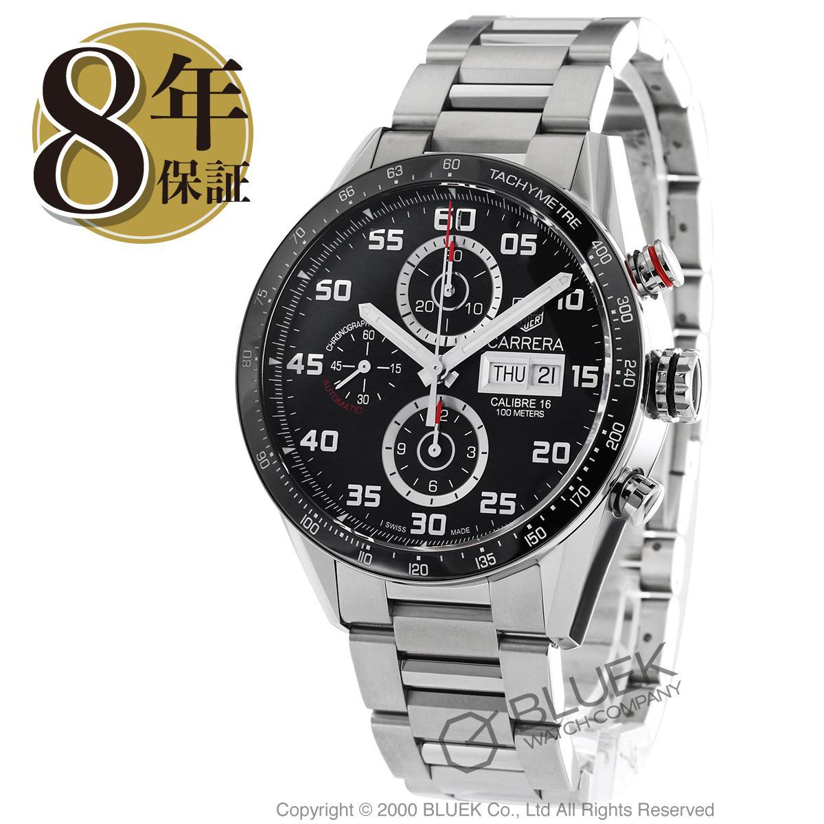 【6,000円OFFクーポン対象】タグホイヤー カレラ クロノグラフ 腕時計 メンズ TAG Heuer CV2A1R.BA0799_8