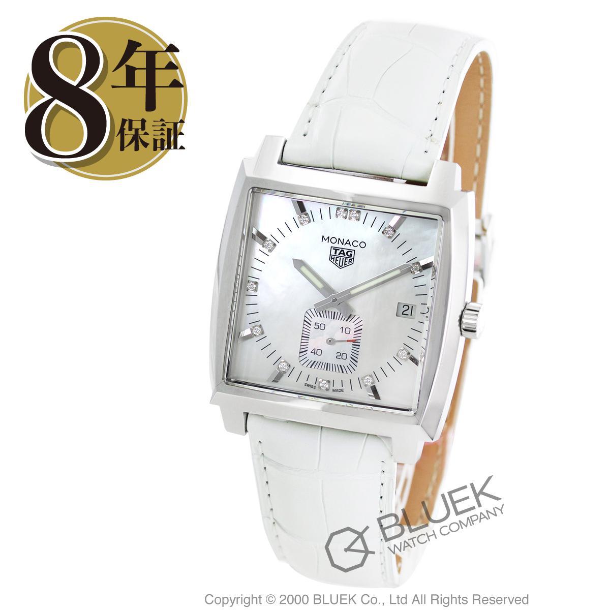 タグホイヤー モナコ ダイヤ アリゲーターレザー 腕時計 メンズ TAG Heuer WAW131B.FC6247_8