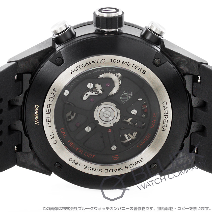タグホイヤー カレラ ホイヤー02T トゥールビヨン COSC クロノグラフ 腕時計 メンズ TAG Heuer CAR5A8W.FT6071_8